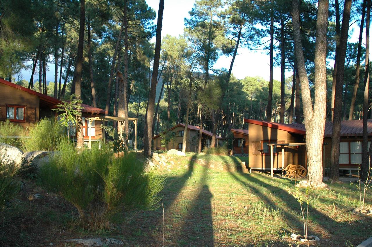 Cabañas de lujo en el Valle del Tiétar